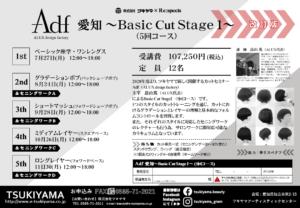 Adf 愛知 Basic Cut Stage 1